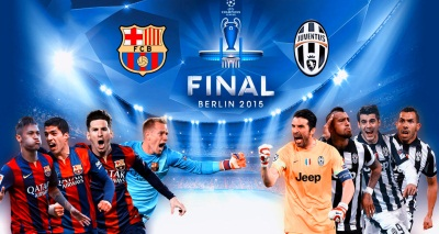 Barcelona, Juventus ready for Champions League final