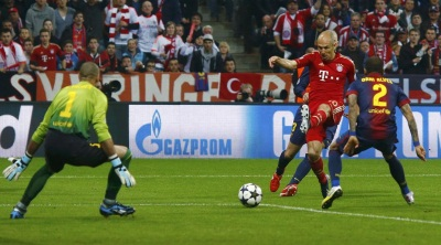Bayern stun Barca with four-goal show