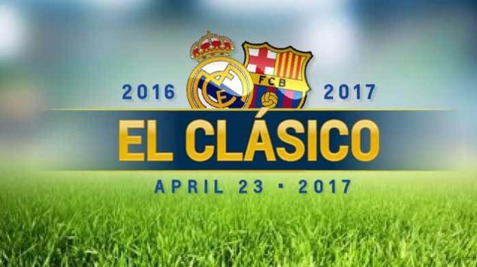 La Liga - Real Madrid vs. Barcelona - BIG profit for either team to win on 23 April 2017