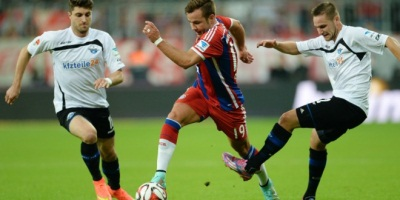 Paderborn prepare for the real Bayern