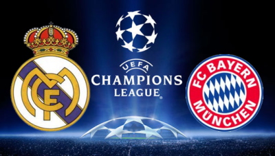 Real Madrid vs Bayern München: UEFA Champions League