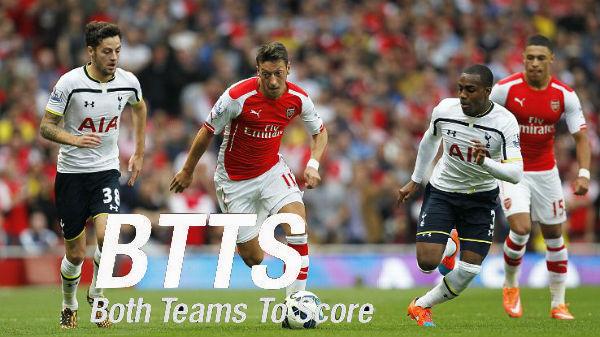 EPL: Get 2/3 on Arsenal vs. Tottenham- Both teams to score - BTTS