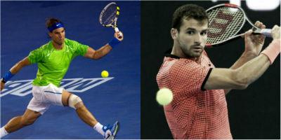 Tennis - Rafael Nadal vs Grigor Dimitrov - Aussie Open 2017