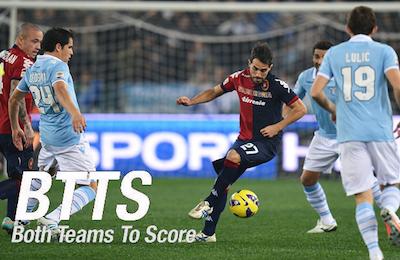 ITALY: Serie A: Get 7/10 on Lazio vs. Cagliari- Both teams to score (BTTS)