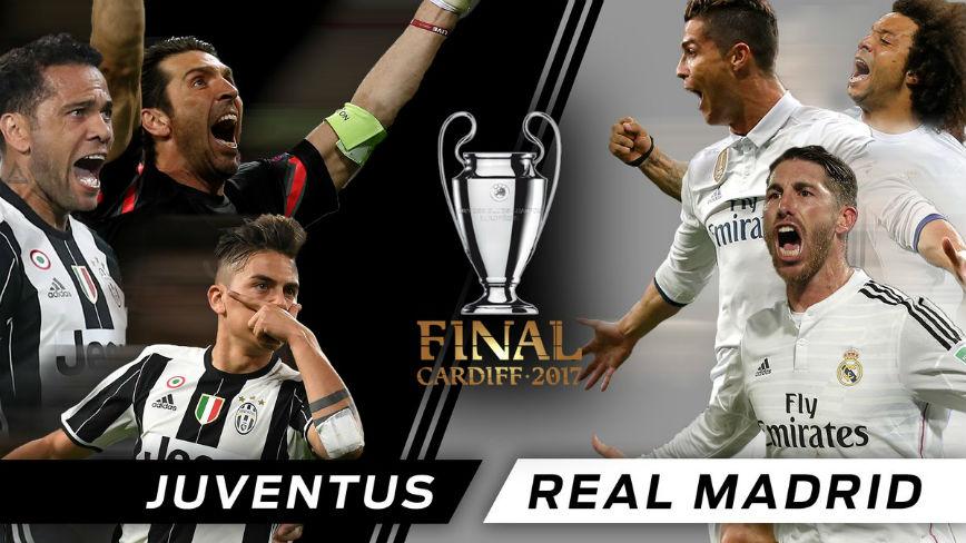 Juventus v Real Madrid - #UCL Final - 3rd June 2017