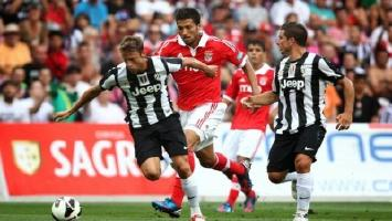 Benfica and Juventus meet after 21-year wait