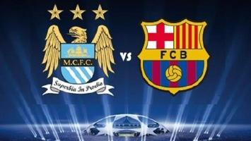 UEFA Champions League: Manc. City v Barcelona