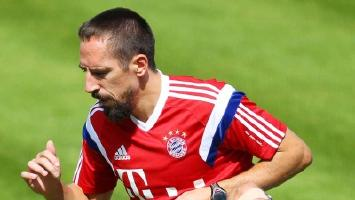 Ribery still on the sidelines for Paderborn clash