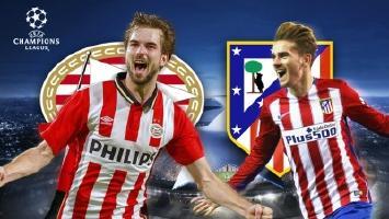 PSV set to crash into Atletico Madrid fortress