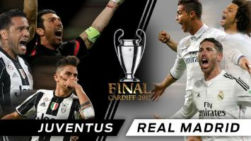 Juventus v Real Madrid - #UCL Final - 3rd June 2017