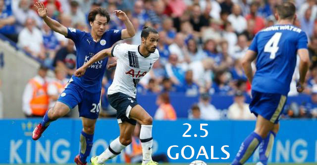 ENGLAND: EPL: Get 1/1 on Tottenham vs. Leicester- Under 2.5 Goals