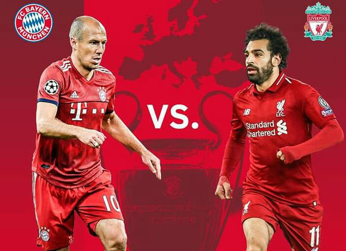 Bayern Munich V Liverpool Ucl 1 8 Finals 13th March 2019